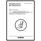 Instruction Manual, Brother BE-0901E-AC-PC