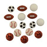 Lets Play Ball Sports Buttons