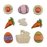 Assorted Easter Fun Buttons