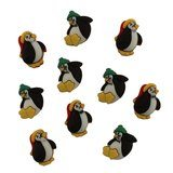 Little Penguin Buttons - 10pk