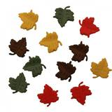 Assorted Falling Leaves Buttons