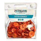 Button Bonanza Grab Bag - Orange