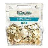 Button Bonanza Grab Bag - Ivory