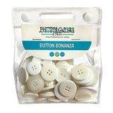Button Bonanza Grab Bag - White