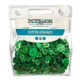Button Bonanza Grab Bag - Green