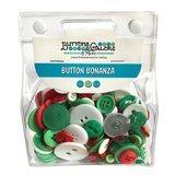 Button Bonanza Grab Bag - Christmas