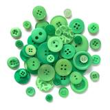 Buttons Galore, Button Basics Bag - Kelly Green