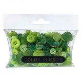 Buttons Galore Color Blend Collection - Key Lime Pie