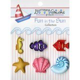 Buttons Galore, Fun in the Sun Collection - Ocean Wonders