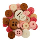 Buttons Galore, Mixed Jar Buttons - Confection