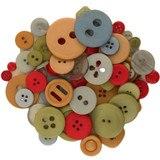 Buttons Galore, Mixed Jar Buttons - Windjammer