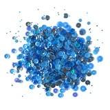 Buttons Galore, 28 Lilac Lane Sequin Tin - Denim Blues