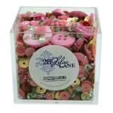 Shaker Mix Embellishment Box - Rose Garden