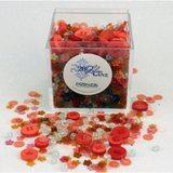 Shaker Mix Embellishment Box - Poppy Fields