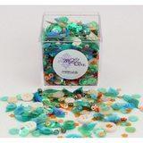 Shaker Mix Embellishment Box - Summer Garden