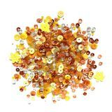 Buttons Galore, Sequin and Bead Mix - Citrus Fun