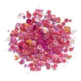 Buttons Galore, Sequin and Bead Mix - Pretty Pinks