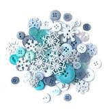 Buttons Galore, Value Pack - Snowflakes