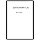 Service Manual, Babylock BL16 Denim Pro