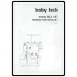 Instruction Manual, Babylock BL3-437