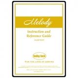 Instruction Manual, Babylock Melody BLMY