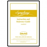 Instruction Manual, Babylock Symphony BLSY