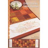 Give Thanks Table Runner Pattern, Crabapple Hill Studio