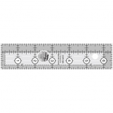 """Quilting Ruler 1-1/2"""" x 6-1/2"""", Creative Grids"""