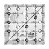 """Quilting Ruler 4-1/2"""" Square, Creative Grids"""