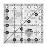 """Quilting Ruler 5-1/2"""" Square, Creative Grids"""