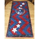 Cut Loose Press, Stars and Stripes Table Runner Pattern