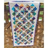 Cut Loose Press, Taffy Pinwheels Table Runner Pattern