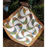 Rainbow Swirls Quilt Pattern - Cut Loose Press