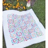 Cut Loose Press, Swirly Pearly Buttons Quilt Pattern