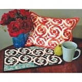Cut Loose Press, Pineapple Pillow or Placemat Pattern
