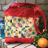 Cut Loose Press, Pineapple Sizzle Tote Pattern