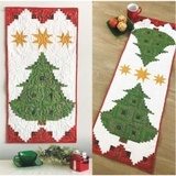 Pine Tree Banner or Table Runner Pattern