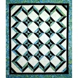 Tropical Blues Quilt Pattern