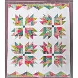 Scrap Crazy Bear Paw Quilt Pattern - Cut Loose Press