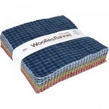 "Woolies Flannel 5"" Fabric Squares (42pcs) - Colors"