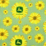 John Deere Sunflowers, Springs Creative Fabric