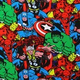 Marvel, Comic Pack, Superheros Fabric