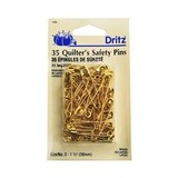 Quilter's Safety Pins (35ct), Dritz #D1465Q