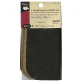 Canvas Iron-On Patches, Assorted Colors (4ct), Dritz