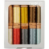 Aurifil, 10 Spool, Primarily Quilts Thread Collection - 300yds (80wt)