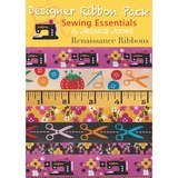 Sewing Essentials Designer Ribbon Pack - Renaissance Ribbons