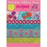 Amy Butler Splendor Designer Ribbon Pack - Renaissance Ribbons