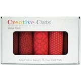 5-pk Creative Cuts, 1yd Fabric Precuts
