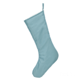 Embroider Buddy Chic Christmas Stocking, Ice Blue