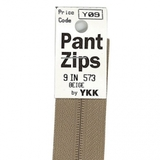 Eflon Pants Zipper, YKK
